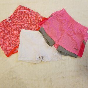 Set of 3 Girls Summer Shorts
